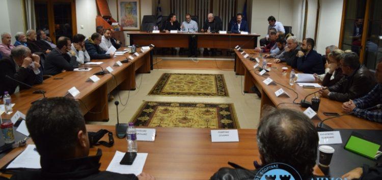 Η ειδική συνεδρίαση του δημοτικού συμβουλίου Φλώρινας για το μεταναστευτικό – προσφυγικό (video, pics)