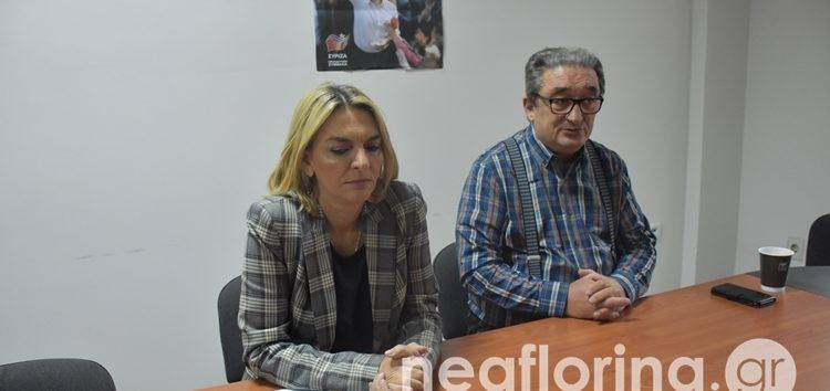 Η Πέτη Πέρκα για την αναστολή λειτουργίας των δύο πανεπιστημιακών τμημάτων της Φλώρινας και τις τρέχουσες πολιτικές εξελίξεις (video)