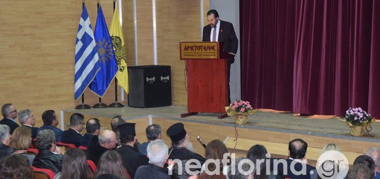 Η πανηγυρική εκδήλωση για την 107η επέτειο των ελευθερίων της Φλώρινας (video, pics)