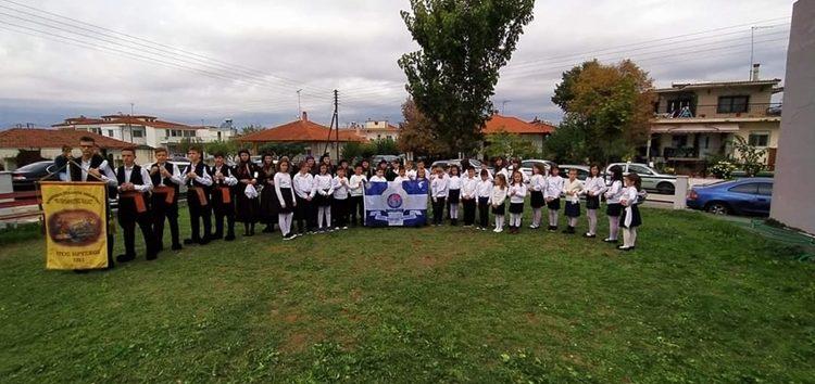 Συμμετοχή των χορευτικών του Λεχόβου και του I.P.A. Φλώρινας στο φεστιβάλ Προχώματος Χαλκηδόνας (pics)