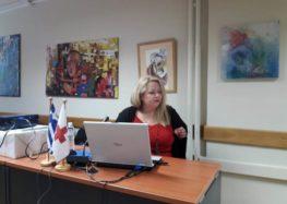 Ομιλία για τις συναισθηματικές πρώτες βοήθειες από την πρόεδρο του Ερυθρού Σταυρού Φλώρινας Άννα Μπαφίτη (pics)
