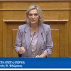 Μήνυμα της βουλευτή ΣΥΡΙΖΑ Φλώρινας Πέτης Πέρκα για την επέτειο της εξέγερσης του Πολυτεχνείου