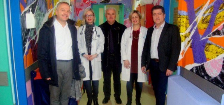 Επίσκεψη του Αντιπεριφερειάρχη Φλώρινας στο Γενικό Νοσοκομείο Φλώρινας