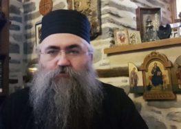 Ομιλία από τον Καθηγούμενο της Ι.Μ. Εσφιγμένου Αρχιμανδρίτη Βαρθολομαίο
