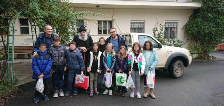 Συμμετοχή του Πειραματικού Σχολείου Φλώρινας στη δράση «Φαγητό για όλους» (pics)