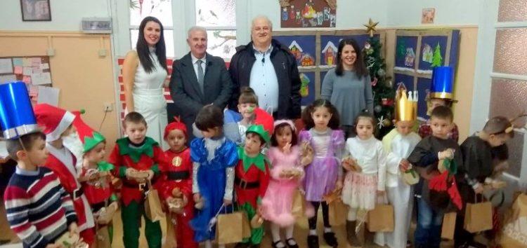 Επίσκεψη του αντιπεριφερειάρχη Φλώρινας στον δήμο Πρεσπών, ενόψει των εορτών