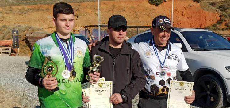 Η Σκοπευτική Αθλητική Λέσχη Φλώρινας στον αγώνα «Ganas Cup» (pics)