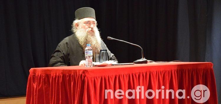 Πνευματική ομιλία για το Άγιο Όρος από τον Καθηγούμενο της Ιεράς Μονής Εσφιγμένου Αρχιμανδρίτη Βαρθολομαίο (video, pics)
