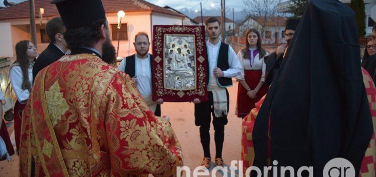 Τίμησαν την Αγία Αναστασία στην Άνω Καλλινίκη – Υποδοχή εικόνας της Παναγίας Ξενιάς (video, pics)