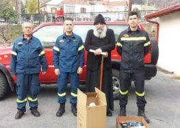 Η Πυροσβεστική Υπηρεσία Φλώρινας προσέφερε στη δράση «Φαγητό για όλους»