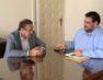 Συνάντηση του Γιάννη Αντωνιάδη με τον υφυπουργό Εσωτερικών Θεόδωρο Λιβάνιο