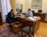 Συνάντηση του Γιάννη Αντωνιάδη με τον υφυπουργό Οικονομικών Θεόδωρο Σκυλακάκη