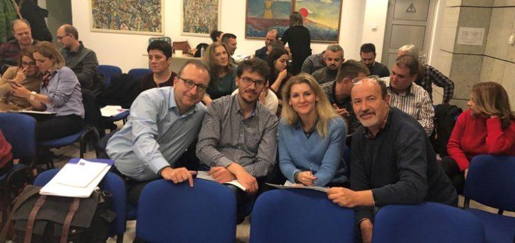 Εκπαιδευτικοί του Γενικού Εκκλησιαστικού Λυκείου Φλώρινας σε διεθνές συνέδριο στα Σκόπια