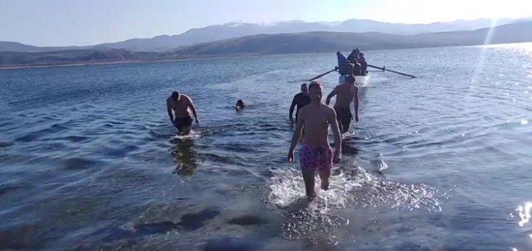 Τα Θεοφάνεια στη λίμνη Βεγορίτιδα (video)