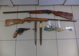 Σύλληψη 53χρονου για παράβαση του νόμου περί όπλων στη Φλώρινα