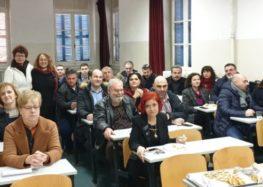 Κοπή πίτας της Γεωπονικής Σχολής του Πανεπιστημίου Δυτικής Μακεδονίας