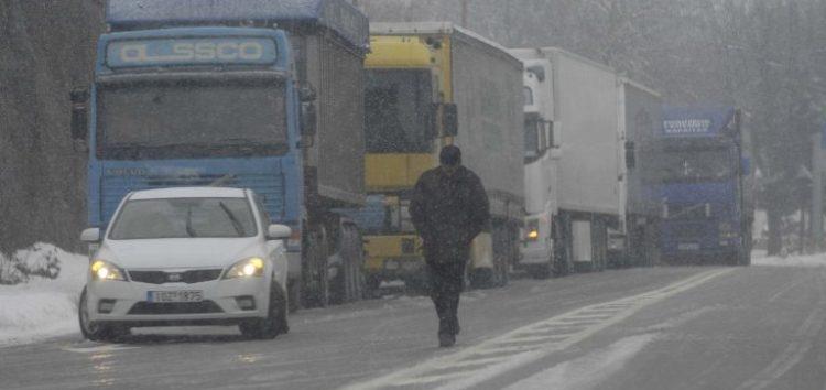 Νεότερη ανακοίνωση από την Αστυνομία για την κίνηση των φορτηγών