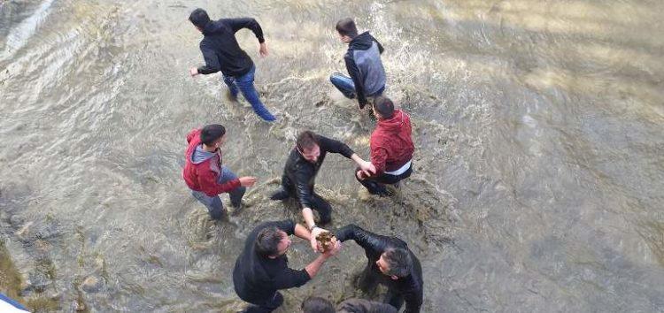 Λαμπρός ο εορτασμός των Θεοφανείων στην Αχλάδα (video, pics)