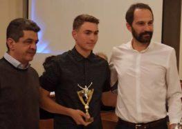 Βράβευση του Γρηγόρη Χάσου και του Στέλιου Κεσίδη από την ΕΑΣ ΣΕΓΑΣ Δυτικής Μακεδονίας