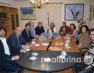 Επισκέψεις του υφυπουργού Αθλητισμού Λευτέρη Αυγενάκη σε συλλόγους της Φλώρινας (video, pics)