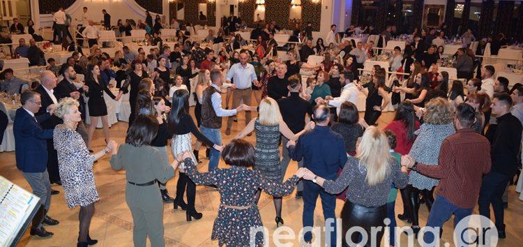 Ο ετήσιος χορός ΠΑΣ Φλώρινα, Σαρισών και ΓΕΦ (video, pics)