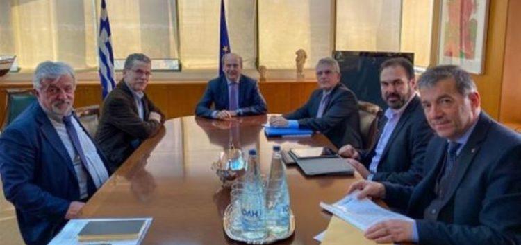 Από τη συνάντηση του δημάρχου Φλώρινας με τον υπουργό Περιβάλλοντος και Ενέργειας