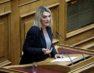 Η βουλευτής ΣΥΡΙΖΑ Φλώρινας Π. Πέρκα στην εκπομπή «Απευθείας» της ΕΡΤ1