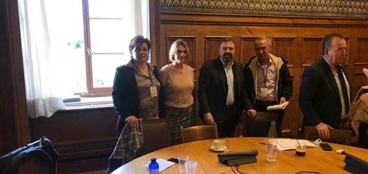 Συνάντηση της Π. Πέρκα με την Γραμματεία της Πανελλαδικής Επιτροπής των Μπλόκων