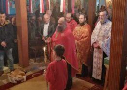 Υποδοχή ιερών λειψάνων στον Ιερό Ναό Αγίου Χαραλάμπους Αχλάδας (video, pics)