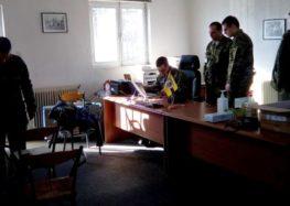Ιατρικό κλιμάκιο της 9ης Μ/Π Ταξιαρχίας στην κοινότητα Μαρίνας