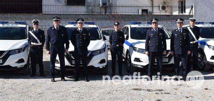 Νέα περιπολικά στον στόλο της Διεύθυνσης Αστυνομίας Φλώρινας (video, pics)