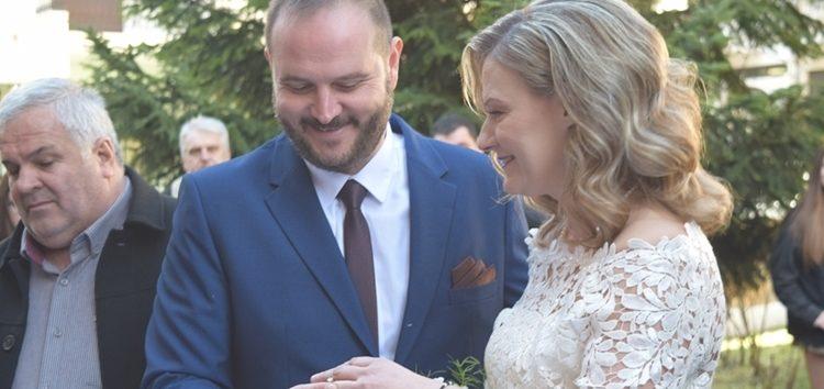 Πολιτικός γάμος για τον αντιδήμαρχο Φλώρινας Κώστα Βασιλείου και τη Σουζάνα Στεργίου