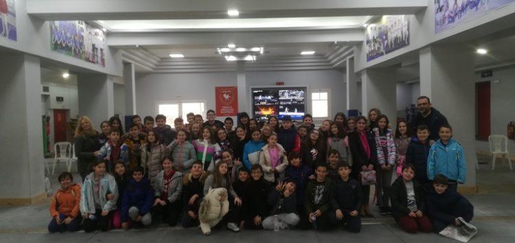 Ευχαριστήριο του Πειραματικού Δημοτικού Σχολείου Φλώρινας προς τον ΟΞΙΦ