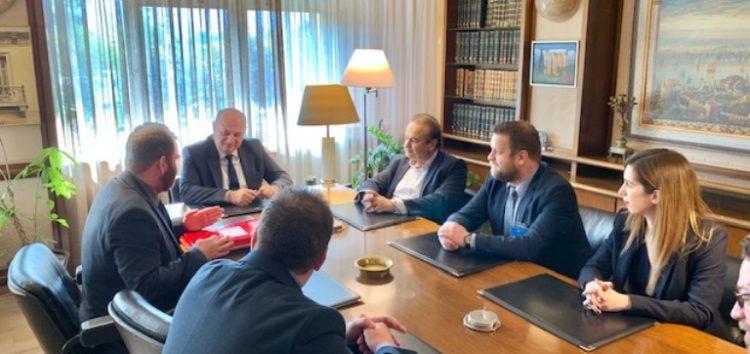 Συνάντηση του βουλευτή Γιάννη Αντωνιάδη και του Δ.Σ. του Δικηγορικού Συλλόγου Φλώρινας με τον υπουργό και υφυπουργό Δικαιοσύνης