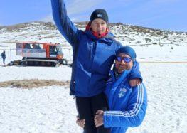 Χρυσός και αργυρός Βαλκανιονίκης στη Χιονοδρομία ο Ευάγγελος Αθανασίου