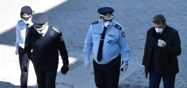 Επίσκεψη του Υπουργού Προστασίας του Πολίτη Μιχάλη Χρυσοχοΐδη στην Γενική Περιφερειακή Αστυνομική Διεύθυνση Δυτικής Μακεδονίας