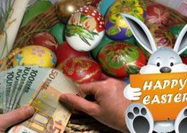 Προπληρωμή επιδομάτων, ειδικής παροχής προστασίας μητρότητας και Δώρου Πάσχα
