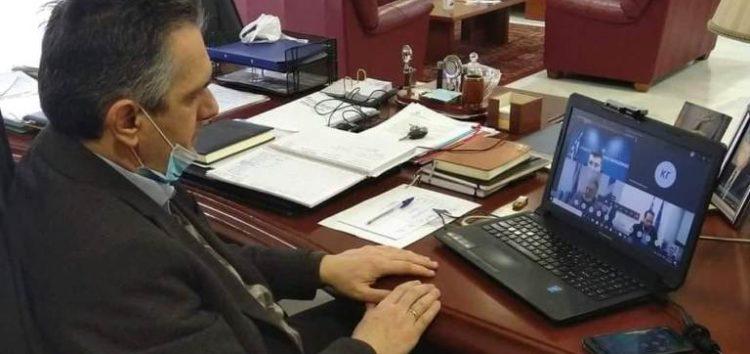 Την απόφαση του Περιφερειακού Συμβουλίου να στηρίξει τα Νοσοκομεία της Περιφέρειας γνωστοποίησε ο Γιώργος Κασαπίδης στον Υπουργό Εσωτερικών
