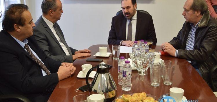 Τον Υφυπουργό Εσωτερικών (Μακεδονίας – Θράκης) υποδέχτηκε ο Δήμαρχος Φλώρινας (video, pics)