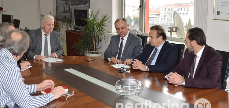 Την Π.Ε. Φλώρινας επισκέφτηκε ο Υφυπουργός Μακεδονίας – Θράκης Θεόδωρος Καράογλου (video, pics)
