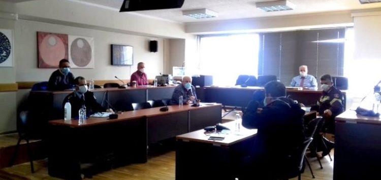 Συνήλθε εκτάκτως το Συντονιστικό Όργανο Πολιτικής Προστασίας της Π.Ε. Φλώρινας με θέμα τον κορωνοϊό (Covid-19)