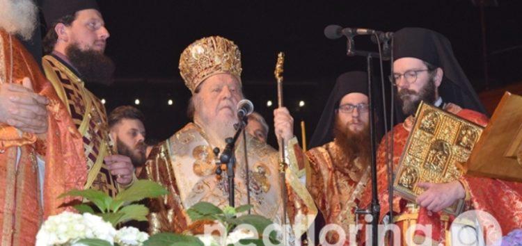 Μητροπολίτης Θεόκλητος: «Είθε ο Σταυρός και ο Επιτάφιος του Κυρίου να δώσουν ελπίδα σε όλους μας και στους επιστήμονες φως»