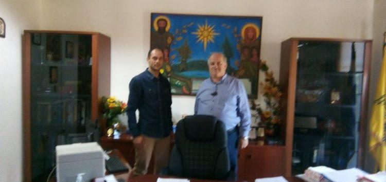 Συνάντηση του Σωματείου Πυροσβεστών Δυτικής Μακεδονίας με τον δήμαρχο Πρεσπών Παναγιώτη Πασχαλίδη (pics)