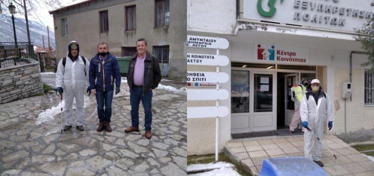 Απολυμάνσεις σε κοινότητες του δήμου Αμυνταίου (pics)