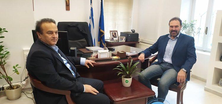 Συνάντηση του Δημάρχου Φλώρινας Βασίλη Γιαννάκη με τον Βουλευτή Γιάννη Αντωνιάδη