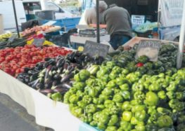 Οι συμμετέχοντες πωλητές στην παράλληλη λαϊκή αγορά Φλώρινας