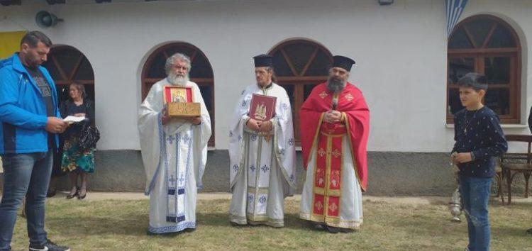 Ολοκληρώθηκαν οι διήμερες λατρευτικές εκδηλώσεις στον πανηγυρίζοντα Ιερό Ναό Αναλήψεως Σωτήρος Αχλάδας (videos, pics)