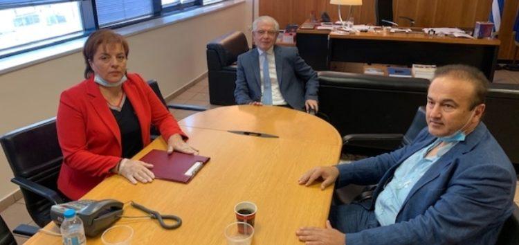 Συνάντηση του βουλευτή Γιάννη Αντωνιάδη με τον πρόεδρο του ΕΛΓΑ