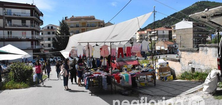Δύο λαϊκές αγορές λειτούργησαν στην πόλη της Φλώρινας (video, pics)