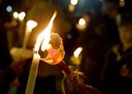 Αναστάσιμη Θεία Λειτουργία στον Ιερό Ναό Αγίας Παρασκευής Καλλιθέας Πρεσπών